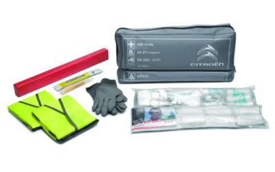 Erste-Hilfe Paket inkl. Warn- und Signalausrüstung