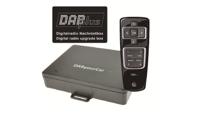 DAB+ Digitalradio Nachrüst-Box Universal - Axion