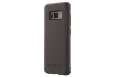 Griffin Case Survivor Strong für Galaxy S8, Schwarz Grau