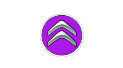 Nabenkappe mit Marken-Logo Fuchsia