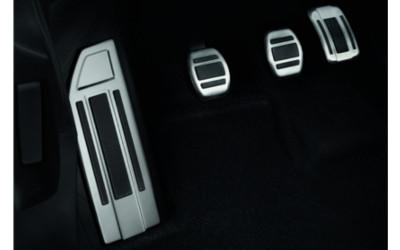 Aluminium-Pedalsatz