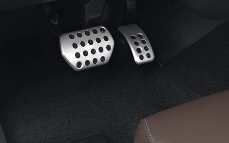 Pedalauflage Aluminium Automatikgetriebe
